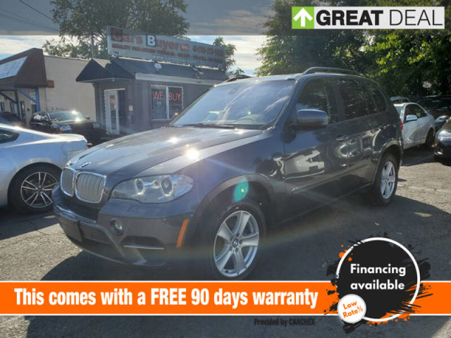 2012 BMW X5 35d Turbocharged All Wheel Drive Power Steering ABS 4-Wheel Disc Brakes Tires - Fr