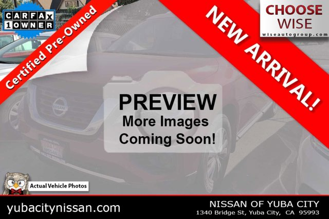 2017 Nissan Pathfinder S FWD S Regular Unleaded V-6 3.5 L/213 [4]