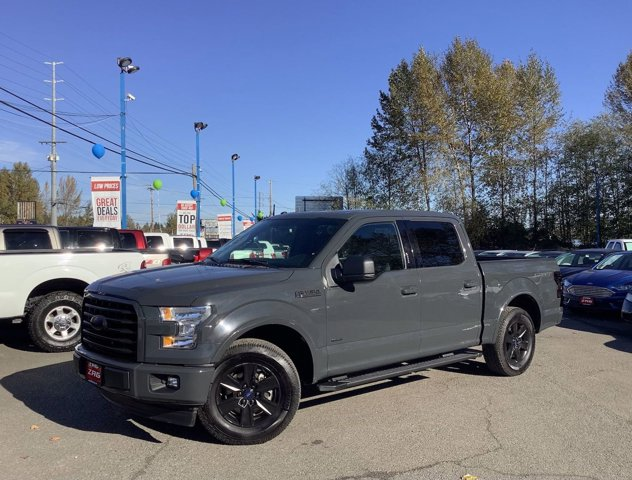 Used 2017 Ford F-150 XLT 2WD SuperCrew 5.5' Box