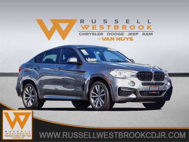 2017 BMW X6 xDrive50i Turbocharged All Wheel Drive Power Steering ABS 4-Wheel Disc Brakes Brak