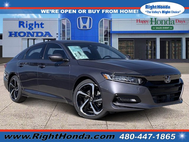 2020 Honda Accord Sport Sport 1.5T CVT Intercooled Turbo Regular Unleaded I-4 1.5 L/91 [4]