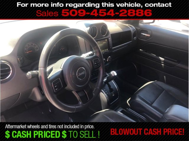 Used 2016 Jeep Patriot FWD 4dr High Altitude Edition