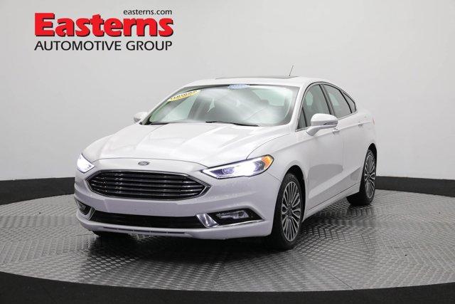 2017 Ford Fusion Titanium EcoBoost 4dr Car