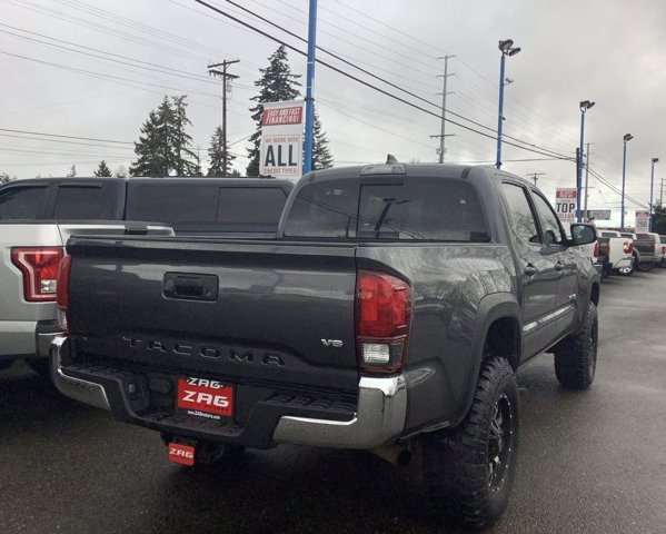 Used 2018 Toyota Tacoma TRD Off Road Double Cab 5' Bed V6 4x4 MT
