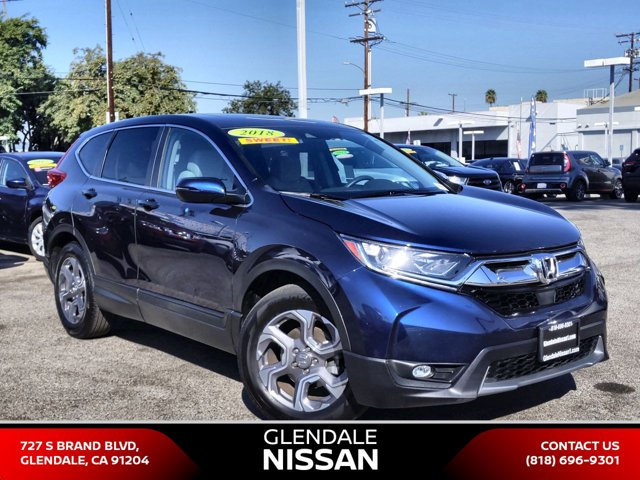 2018 Honda CR-V EX EX 2WD Intercooled Turbo Regular Unleaded I-4 1.5 L/91 [8]