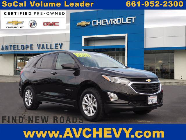2019 Chevrolet Equinox LS FWD 4dr LS w/1LS Turbocharged Gas I4 1.5L/92 [6]
