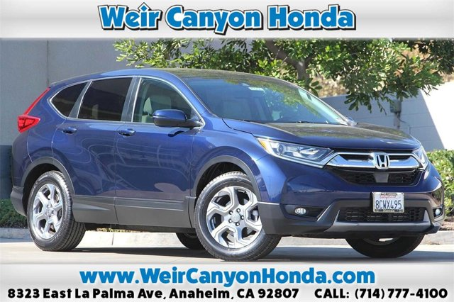 2018 Honda CR-V EX-L  Intercooled Turbo Regular Unleaded I-4 1.5 L/91 [24]