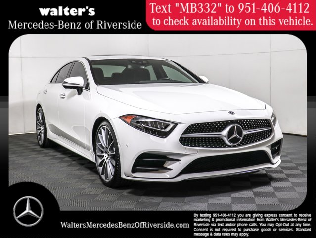 2019 Mercedes-Benz CLS 450 CLS 450 Coupe Intercooled Turbo Gas/Electric I-6 3.0 L/183 [0]