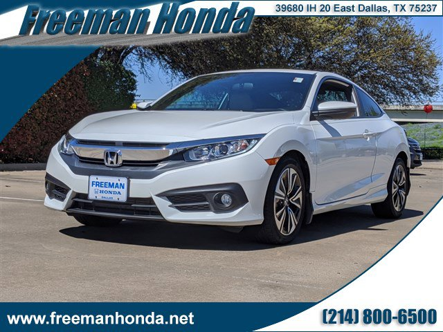 Used 2017 Honda Civic Coupe in Dallas, TX