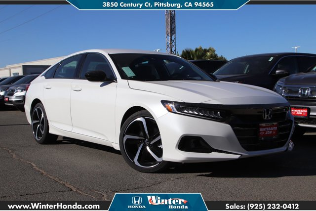2021 Honda Accord Sedan Sport Sport 1.5T CVT Intercooled Turbo Regular Unleaded I-4 1.5 L/91 [9]