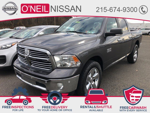 2017 Ram 1500 Big Horn Big Horn 4x4 Crew Cab 5'7″ Box Regular Unleaded V-6 3.6 L/220 [1]