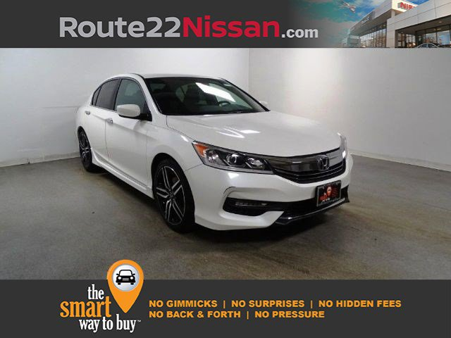 2017 Honda Accord Sedan Sport Sport CVT Regular Unleaded I-4 2.4 L/144 [14]