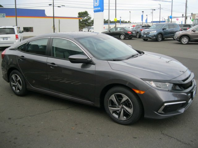 New 2020 Honda Civic Sedan in Newport, OR