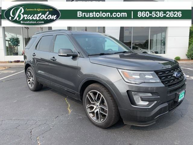 2016 Ford Explorer Sport Turbocharged Four Wheel Drive Tow Hitch Power Steering ABS 4-Wheel Di