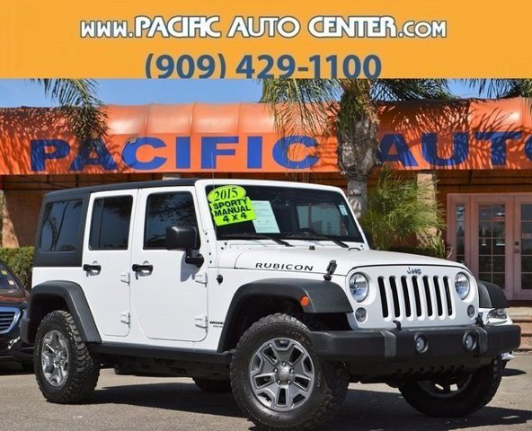 Used 2015 Jeep Wrangler Unlimited in Fontana, CA