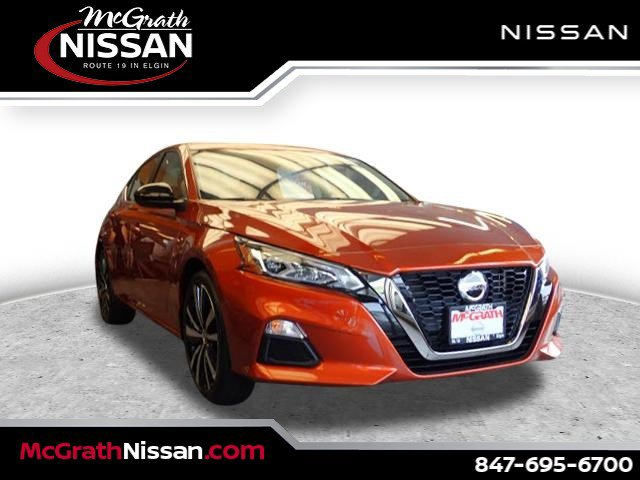 2020 Nissan Altima 2.5 SR 2.5 SR Sedan Regular Unleaded I-4 2.5 L/152 [0]