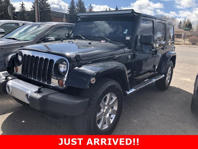 Used 2012 Jeep Wrangler Unlimited in Greeley, CO