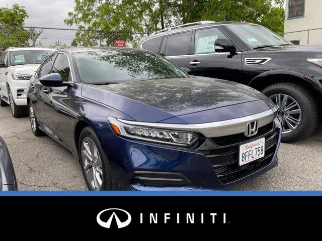 2018 Honda Accord Sedan LX 1.5T LX 1.5T CVT Intercooled Turbo Regular Unleaded I-4 1.5 L/91 [0]