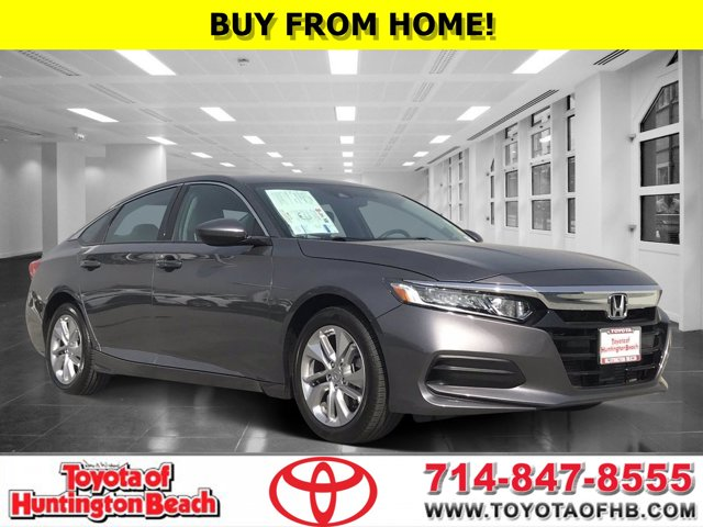 2019 Honda Accord Sedan LX LX 1.5T CVT Intercooled Turbo Regular Unleaded I-4 1.5 L/91 [5]
