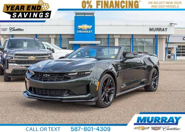 2020 Chevrolet Camaro LT1 Manual Convertible 2dr Conv LT1 6.2L V8 Gas [2]