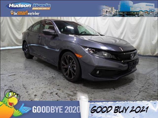 2021 Honda Civic Sedan Sport Sport CVT Regular Unleaded I-4 2.0 L/122 [19]