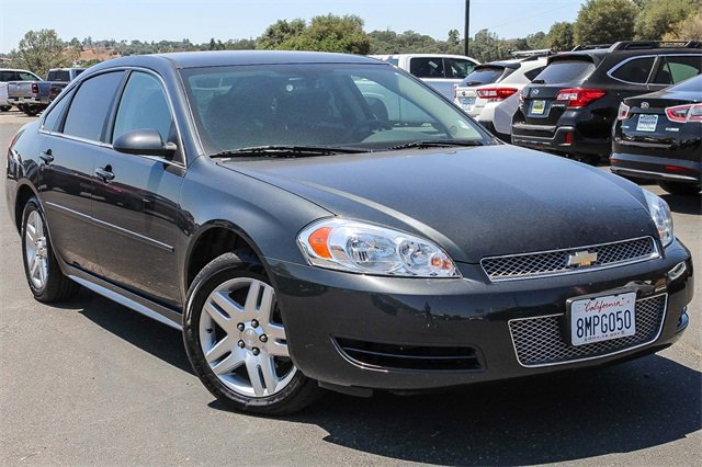 2016 Chevrolet Impala Limited LT 4dr Sdn LT Fleet Gas/Ethanol V6 3.6L/217 [2]