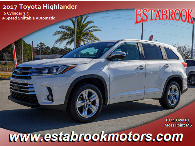 Used 2017 Toyota Highlander in , MS