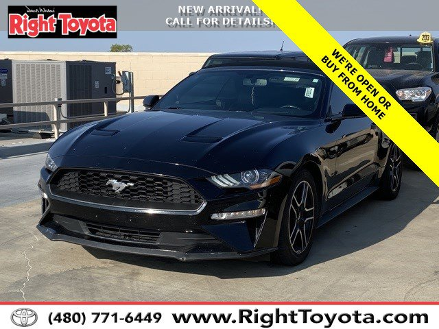 2019 Ford Mustang EcoBoost EcoBoost Convertible Intercooled Turbo Premium Unleaded I-4 2.3 L/140 [1]