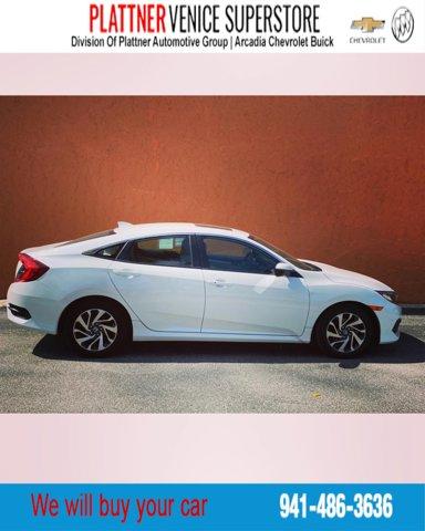 Used 2017 Honda Civic Sedan in Venice, FL
