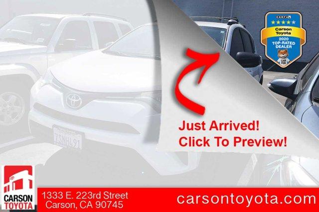 2016 Toyota RAV4 LE FWD 4dr LE Regular Unleaded I-4 2.5 L/152 [0]