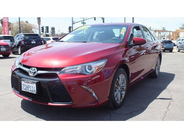 2016 Toyota Camry SE 4DR FWD