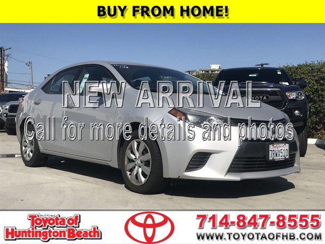 2015 Toyota Corolla LE 4dr Sdn CVT LE Regular Unleaded I-4 1.8 L/110 [4]