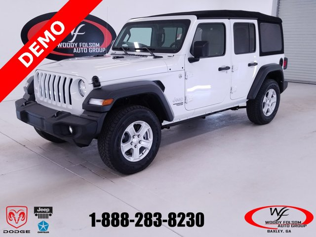 New 2018 Jeep Wrangler Unlimited in Baxley, GA