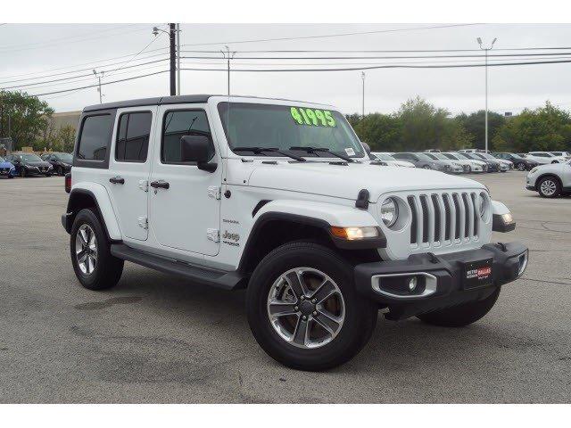 2019 Jeep Wrangler Unlimited Sahara Sahara 4x4 Regular Unleaded V-6 3.6 L/220 [4]