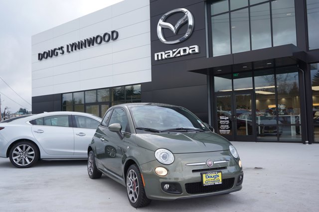 Used 2012 FIAT 500 in Lynnwood Seattle Kirkland Everett, WA