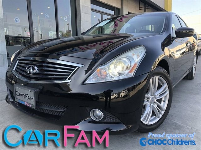 Used 2013 INFINITI G37 SEDAN in Rialto, CA