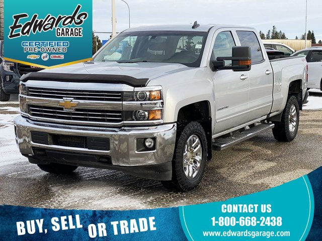 2018 Chevrolet Silverado 2500HD LT Local Trade Htd Front Buckets 4WD Crew Cab 153″ LT Gas/Ethanol V8 6.0L/ [0]