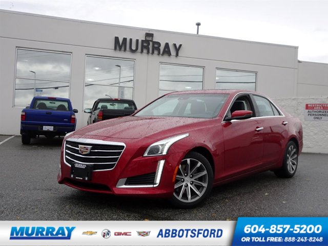 2016 Cadillac CTS Sedan Luxury Collection AWD 4dr Sdn 3.6L Luxury Collection AWD Gas V6 3.6L/217 [10]