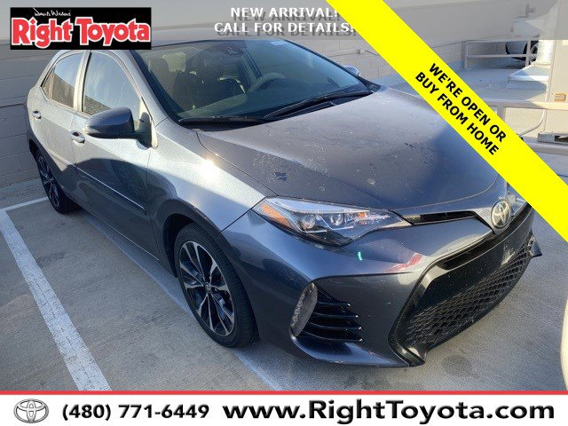 2017 Toyota Corolla SE SE CVT Regular Unleaded I-4 1.8 L/110 [5]