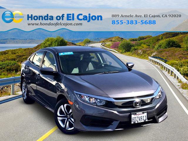 Used 2018 Honda Civic Sedan in El Cajon, CA