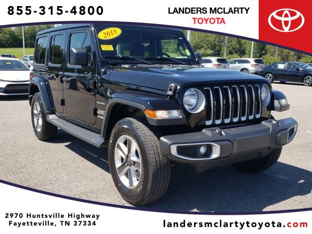 Used 2018 Jeep Wrangler Unlimited in Fayetteville, TN
