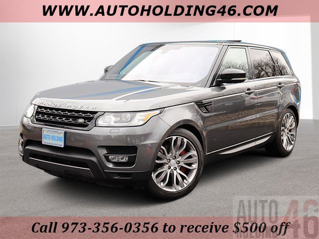 2016 Land Rover Range Rover Sport V8 Supercharged Four Wheel Drive LockingLimited Slip Different