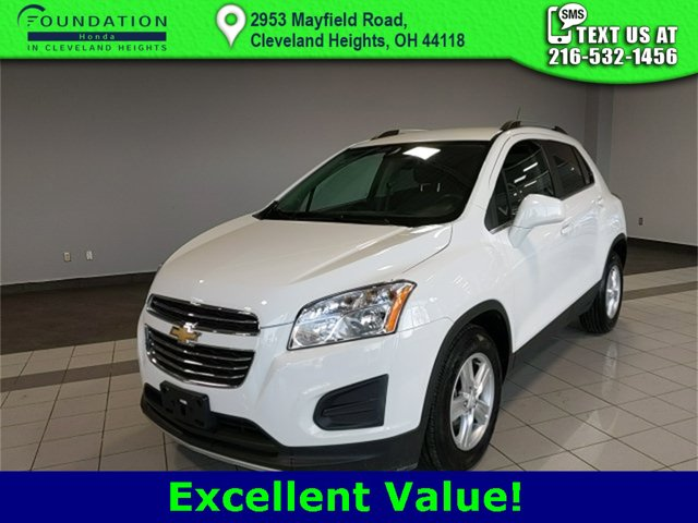Used 2016 Chevrolet Trax in Cleveland Heights, OH