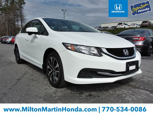 Used 2015 Honda Civic Sedan in Gainesville, GA