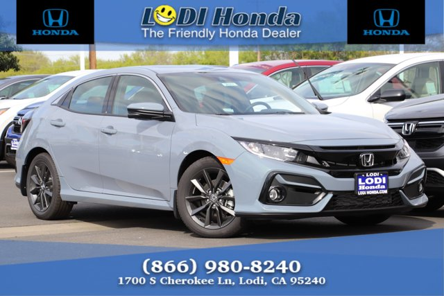 New 2020 Honda Civic Hatchback in Lodi, CA