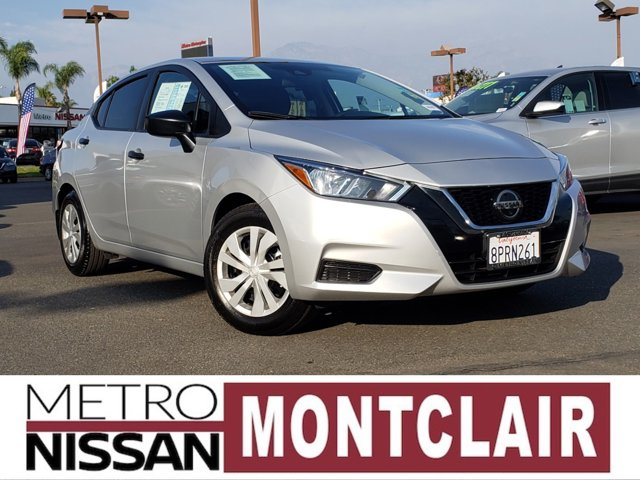 2020 Nissan Versa S S CVT Regular Unleaded I-4 1.6 L/98 [6]