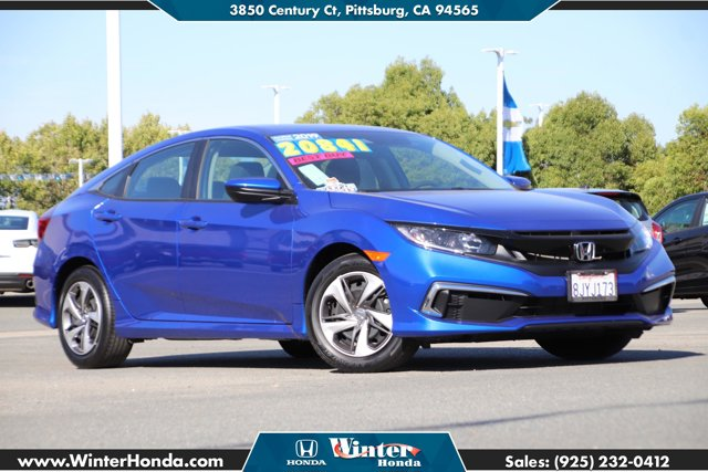 2019 Honda Civic Sedan LX LX CVT Regular Unleaded I-4 2.0 L/122 [3]