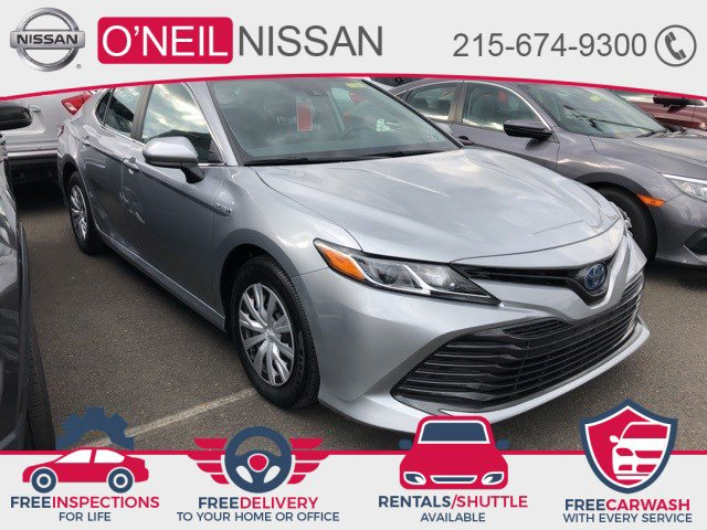 2019 Toyota Camry LE  Gas/Electric I-4 2.5 L/152 [1]