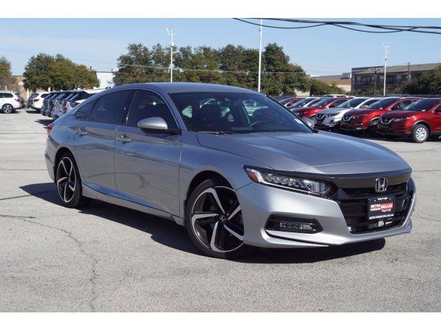 2020 Honda Accord Sedan Sport Sport 1.5T CVT Intercooled Turbo Regular Unleaded I-4 1.5 L/91 [18]
