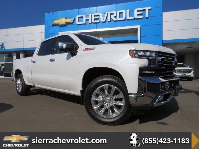 2021 Chevrolet Silverado 1500 LTZ 4WD Crew Cab 157″ LTZ Turbocharged Diesel I6 3.0L/183 [10]